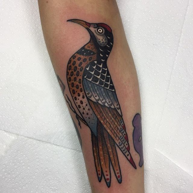 traditional bird tattoo 20