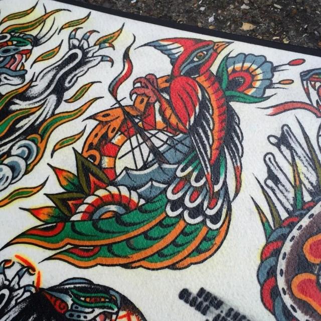traditional bird tattoo 27