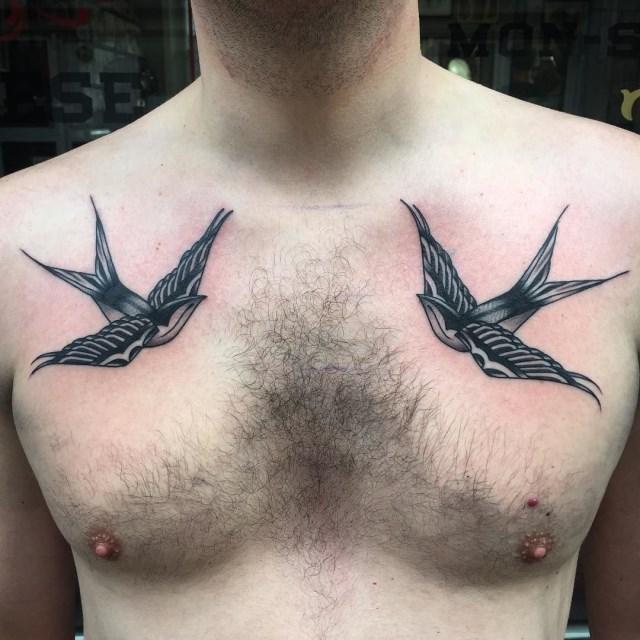 traditional bird tattoo 28