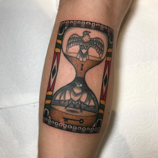 traditional bird tattoo 32