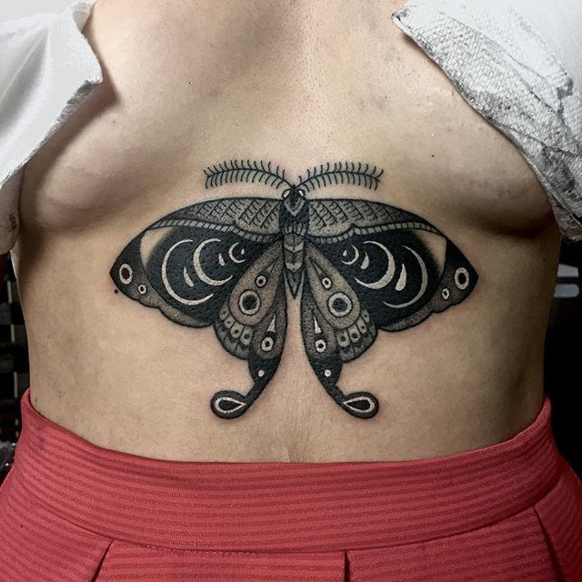 traditional butterfly tattoo 10