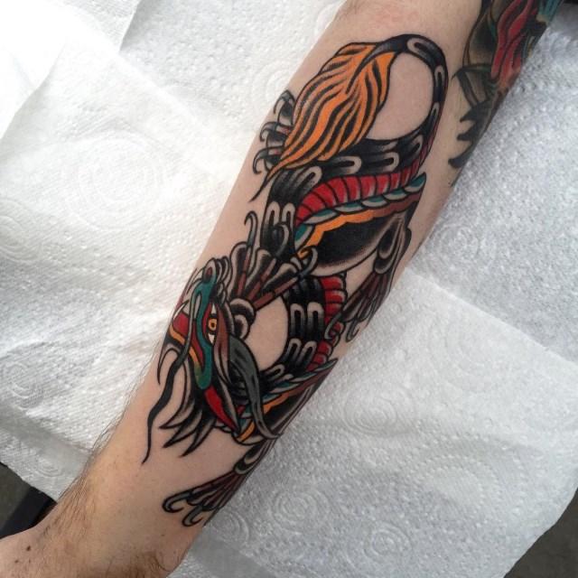 Traditional Dragon Tattoo 02