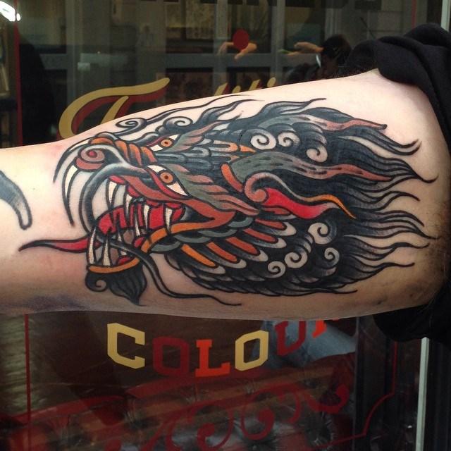 Traditional Dragon Tattoo 24