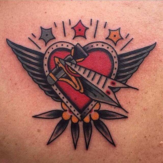 traditional eagle tattoo 001