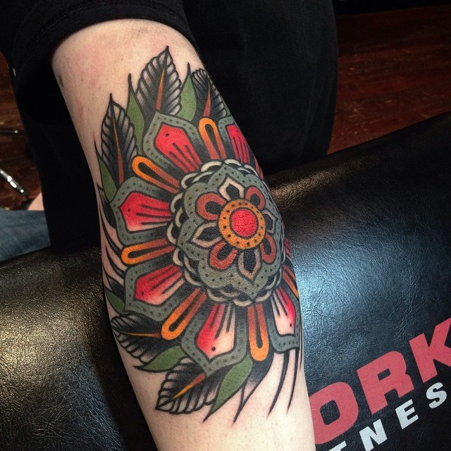 traditional mandala tattoo 15