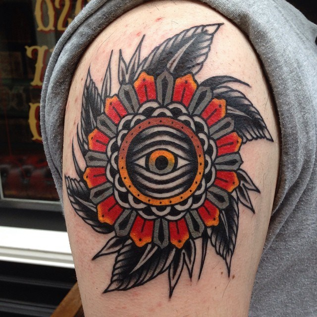 traditional mandala tattoo 16