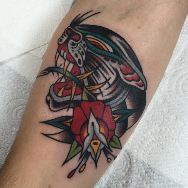 traditional panther tattoo 50