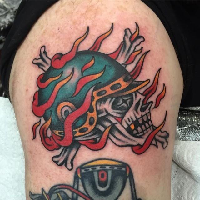 Traditional Skull Tattoo 29