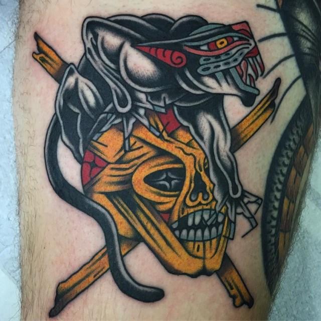 Traditional Skull Tattoo 30