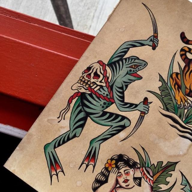 Traditional Skull Tattoo 38