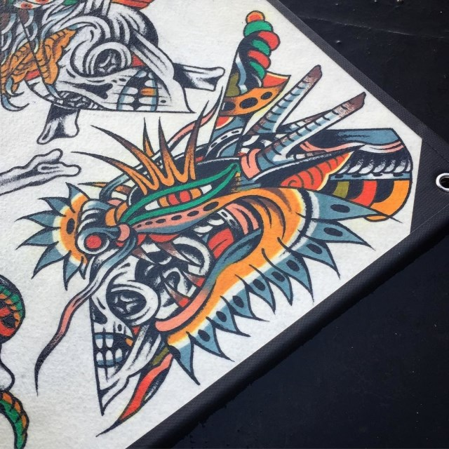 Traditional Skull Tattoo 46