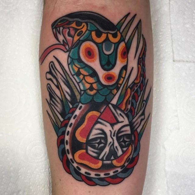 Traditional Skull Tattoo 51