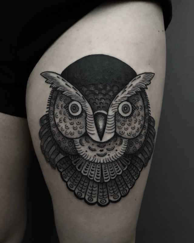 traditional-style-owl-tattoo-2